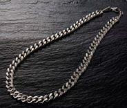 純チタン極太喜平磁気ネックレス